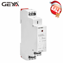 цена на GEYA GR8 AC DC 48V Switch Relay Intermediate Relay Auxiliary Relay 8A 16A SPDT RELAYS 48V