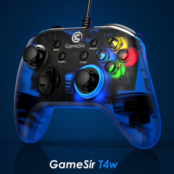 GameSir T4w USB Wired Game Controller for Windows 7/8/10 PC Gamepad with Vibration Motors and Turbo Joystick PC 1