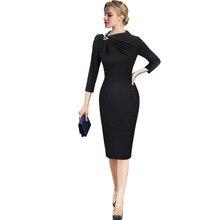 Elegant Women Dresses 2020 Office Formal Work Dresses Female