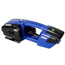 Elektrische Umreifung Maschine für PP/PET Umreifung Werkzeug Tragbare Gürtel Banding Machine1/2 zu 5/8 Zoll Breite (blau und Schwarz)