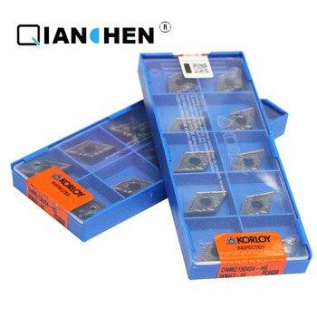 Original Korloy DNMG150404-HS PC9030 DNMG150408-HA H01 DNMG150604-HA H01 (10 unids/lote) insertos de herramientas de torneado interno