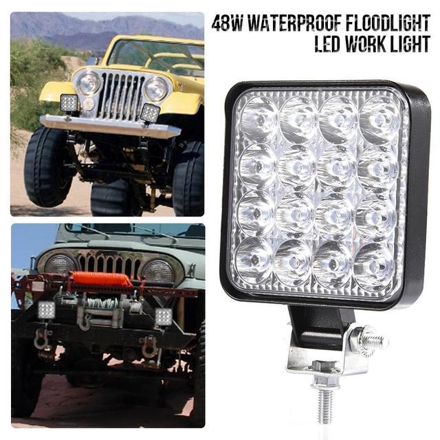 LED Car Square Spot Light