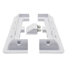 ECOWORTHY Solar Panel Roof Drill Free Corner ABS White Plastic Bracket Mount Set for RV, Boats, Caravans, Marine, Motorhomes