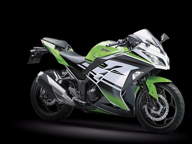 Black Green White Full Fairing Injection Bodywork Kits For Kawasaki Ninja 300 EX300R EX 300R 2013 2014 2015 2016 2017 Windscreen