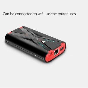 Image 2 - TUOSHIKE 7800 3000mah の無線 lan 電源銀行 2.1A 急速充電 Iphone Xiaomi サムスン Huawei 社の Android 携帯電話 3 グラム 4 グラムリレー Powerbank