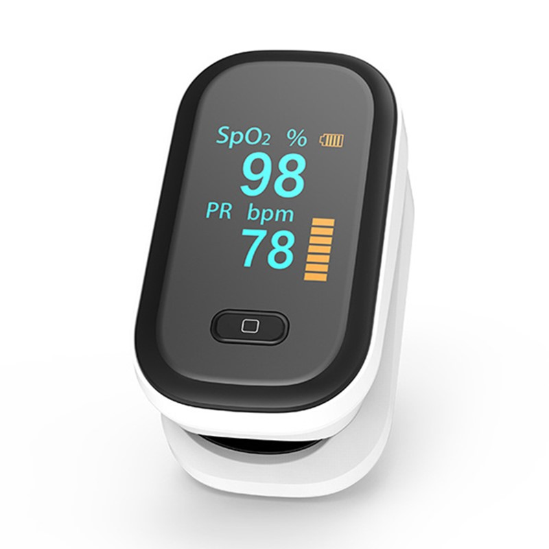 2019 new blood oxygen meter refers to the clip-type pulse finger  saturation monitor title=
