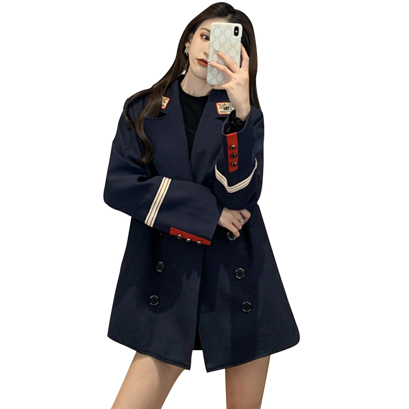 Winter Clothes Women Coat Women's Korean-style Loose-Fit I British-Style Suit Women's Fashion Casual New Style Blazers