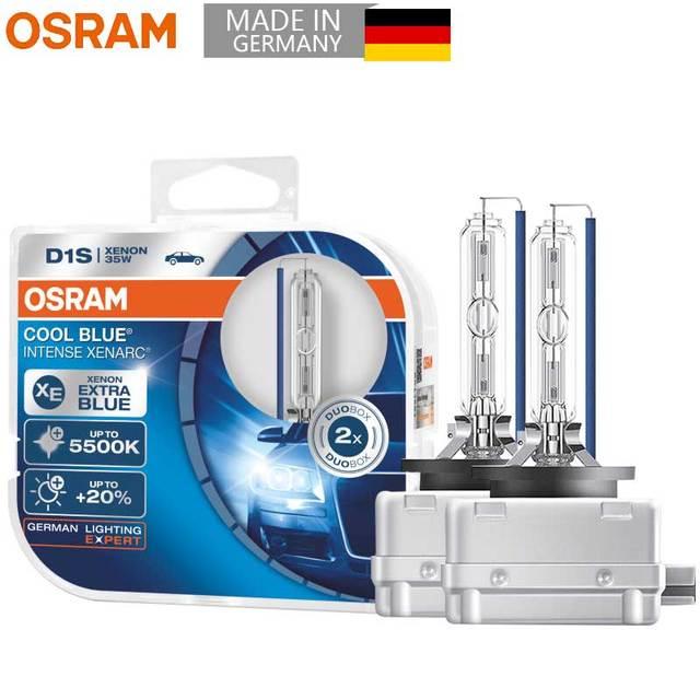 OSRAM D1S D3S ксеноновая Автомобильная фара Автоматическая супер Автомобильная Лампа Холодный Белый Оригинал 5500K 12V 35W HID CBI холодный синий Advance (2 шт.)