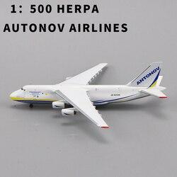 1:500 весы HERPA MINIATURMODELLE AUTONOV AIRLINES AN-124, редкая коллекция RUSIAN