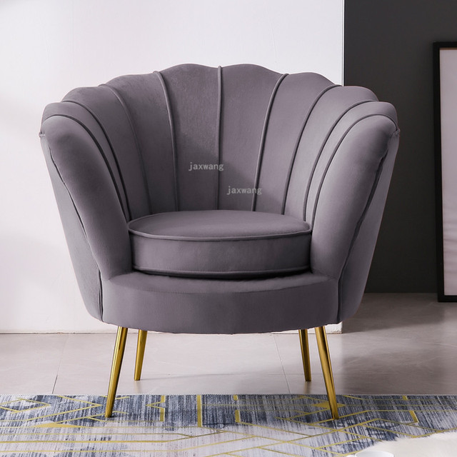 Single Shell Accent Chair 4