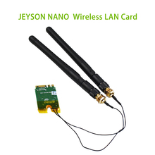 Jetson Nano WIFI โมดูล 8265AC NGW dual band dual mode การ์ดเครือข่ายไร้สาย M.2 อินเทอร์เฟซบลูทูธโมดูล WIFI