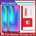 Для Huawei Honor 10 Lite ЖК-дисплей с цифрователем сенсорного вода сенсорный экран с рамкой глобальная версия 6,21