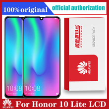 "Для Huawei Honor 10 Lite ЖК дисплей с цифрователем сенсорного вода сенсорный экран с рамкой глобальная версия 6,21 ""HRY LX1 HRY LX2 HRY L21"