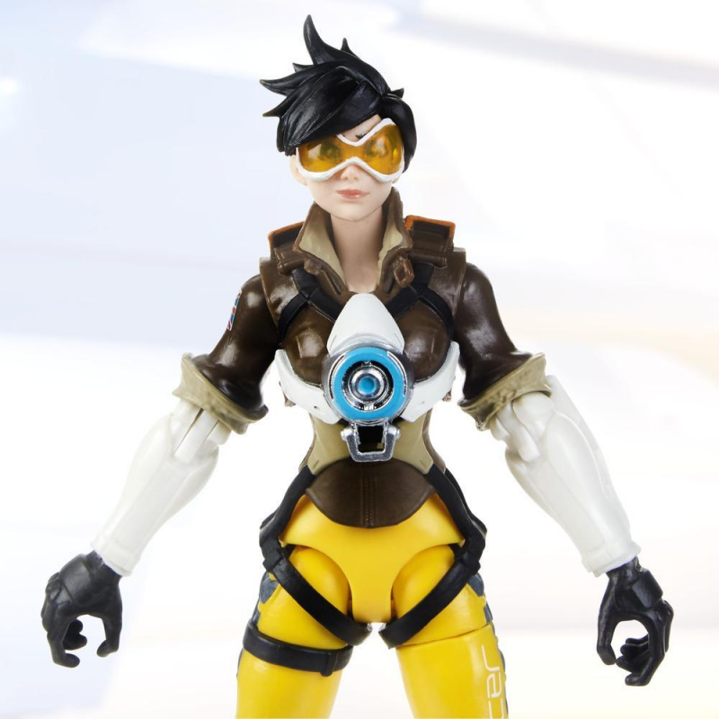 15cm Hasbro Overwatch Tracer Anime characters Action PVC Collection Model Toy Anime Figure Toys For Kids 1