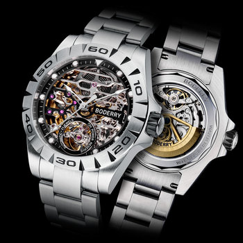 Top Brand Luxury Men's Watches Automatic Mechanical Luminous Waterproof Stainless Steel Watch Men Male Clock Relogio Masculino ailang skeleton watch full stainless steel mechanical watch men designer mens watches top brand luxury clock gold male relogio