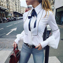Hot Sale Fashion Ladies Sexy V-neck Cotton Ruffles Outwear Clothes Women Casual
