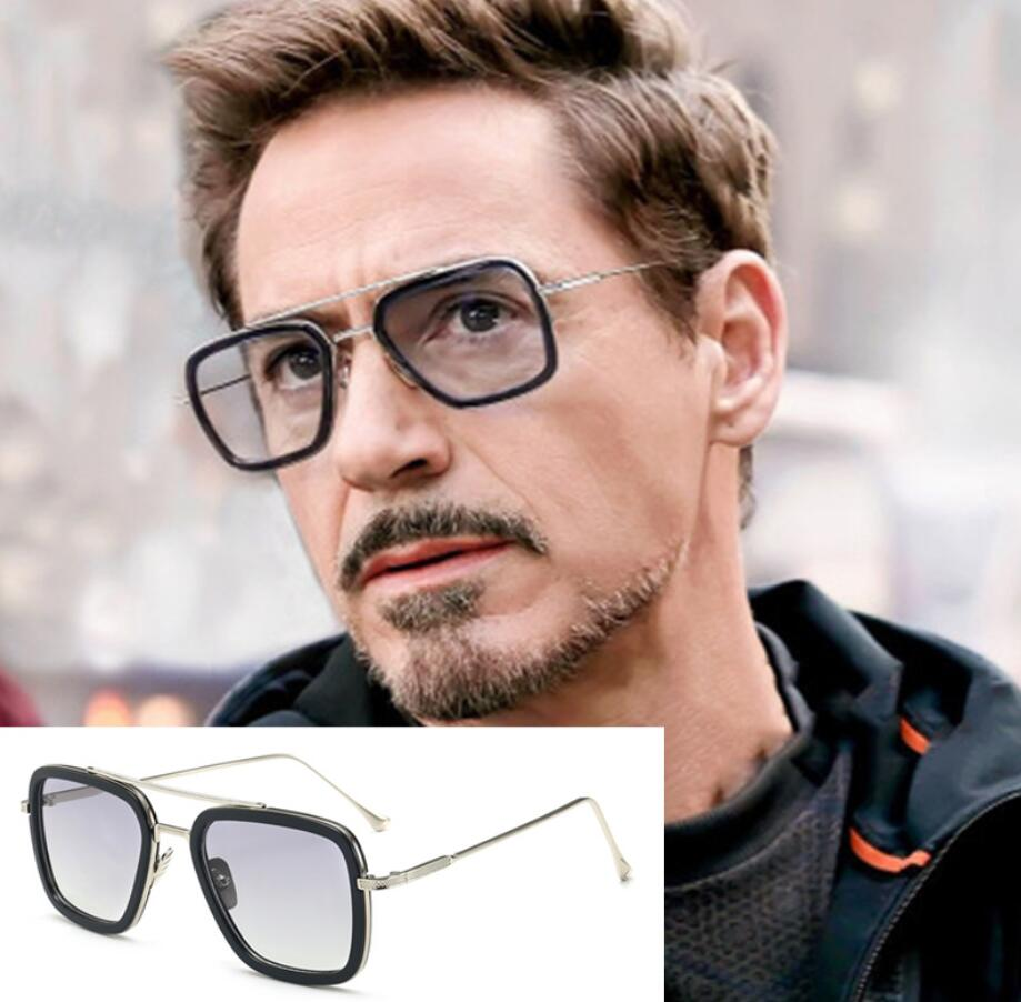 Toy Marvel Avengers Iron Man Tony Stark Cosplay Sunglasses Toys Adults Sunglasses Iron Man Glasses Accessories Toys