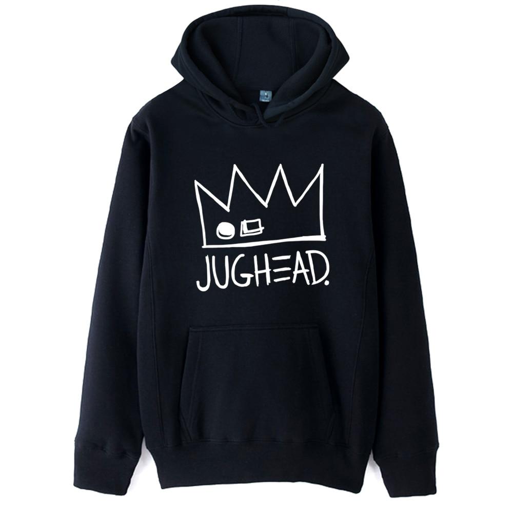 Jughead Jones Crown South Side Serpents Riverdale Girl Woman Hoodie Autumn Winter Fleece Couple Clothes ZIIART 17