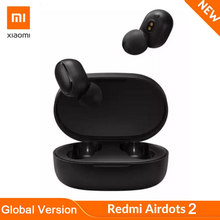 Redmi AirDots 2 Wireless Bluetooth 5.0 ricarica Xiaomi auricolare Mi Ture auricolari Wireless auricolari bassi stereo In-Ear controllo AI