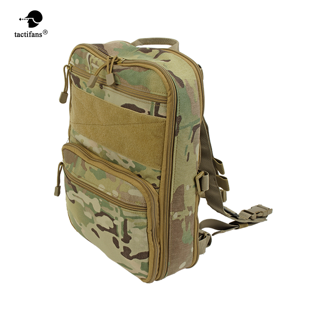 Expandable Tactical Backpack 3D Flatpack Hydration Molle Pouch Camping Hiking Outdoor Bags 500D Nylon Unisex Hunting Accessories