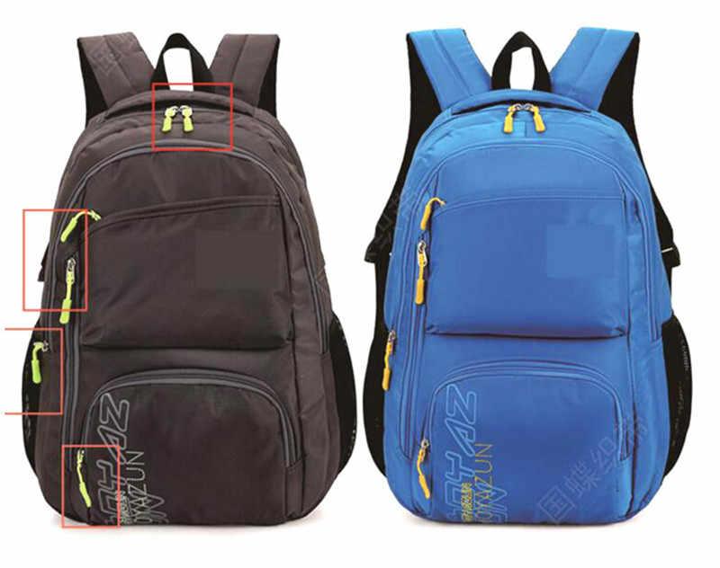 10Pcs สายซิป TAB เปลี่ยนซิปดึง PULLER End Fit เชือก: ผู้ให้บริการหักหัวเข็มขัดกระเป๋าเดินทางเต็นท์กระเป๋าเป้สะพายหลัง