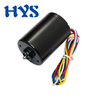 HYS Brushless DC 12V 24V Mini Motor High Speed 4000rpm 8000rpm BLDC DC 12 Volt V Micro Electric Motors DC12V A3650 bringsmart r2430 dc micro brushless motor 12 volt 6000rpm mini high speed motor with brake high precision low noise bldc