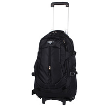 Trolly School Travel Bag Men Rolling Luggage Trolley Women Boarding Box with Wheels Students Multi-function Wheeled Backpack