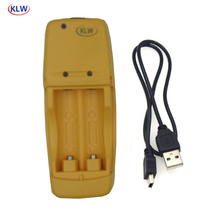 Özel 2 yuvaları LED ekran akıllı USB pil şarj cihazı için LR6 AA LR03 AAA 1.5V alkalin pil akıllı şarj cihazı