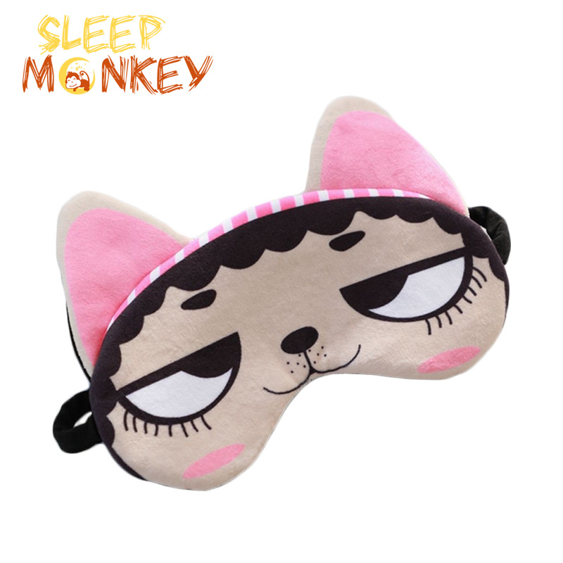 New Style INS Cartoon Eye Patch Moe Cheap Rabbit Shepherd Eyeshade BOY'S And GIRL'S Travel Sleep Rest Eye Patch