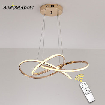 Gold Modern Led Pendant Light New Home decoration Lamp for Dining orom Living room Kitchen Hanging Luminaires