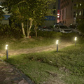 Открытый СВЕТОДИОДНЫЙ садовые светильники современный алюминиевый светодиодный газон лампы 10 Вт светодиодный ландшафтный светильник для ...