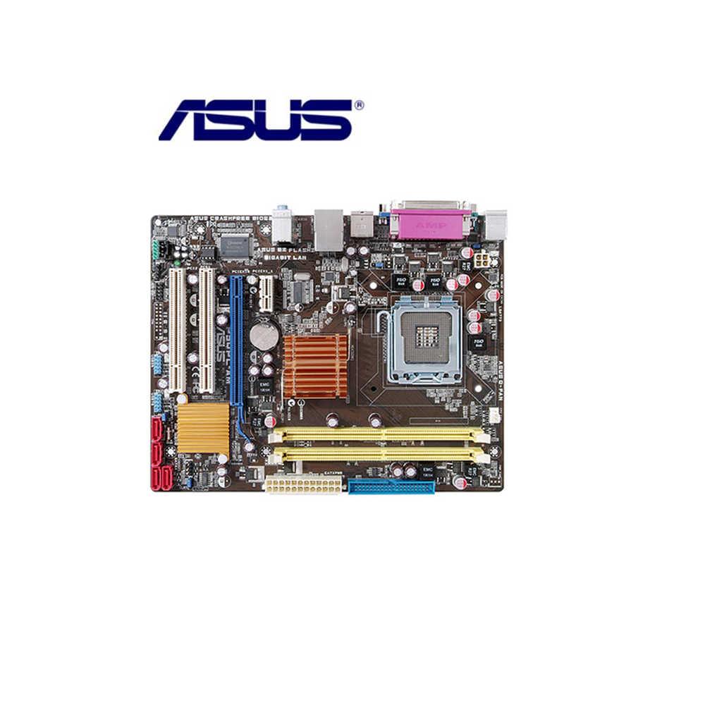 Asus P5QPL-AM masaüstü anakart G41 soket LGA 775 çekirdek 2 Extreme Quad Duo Pentium D Celeron DDR2 8G u ATX orijinal kullanılan