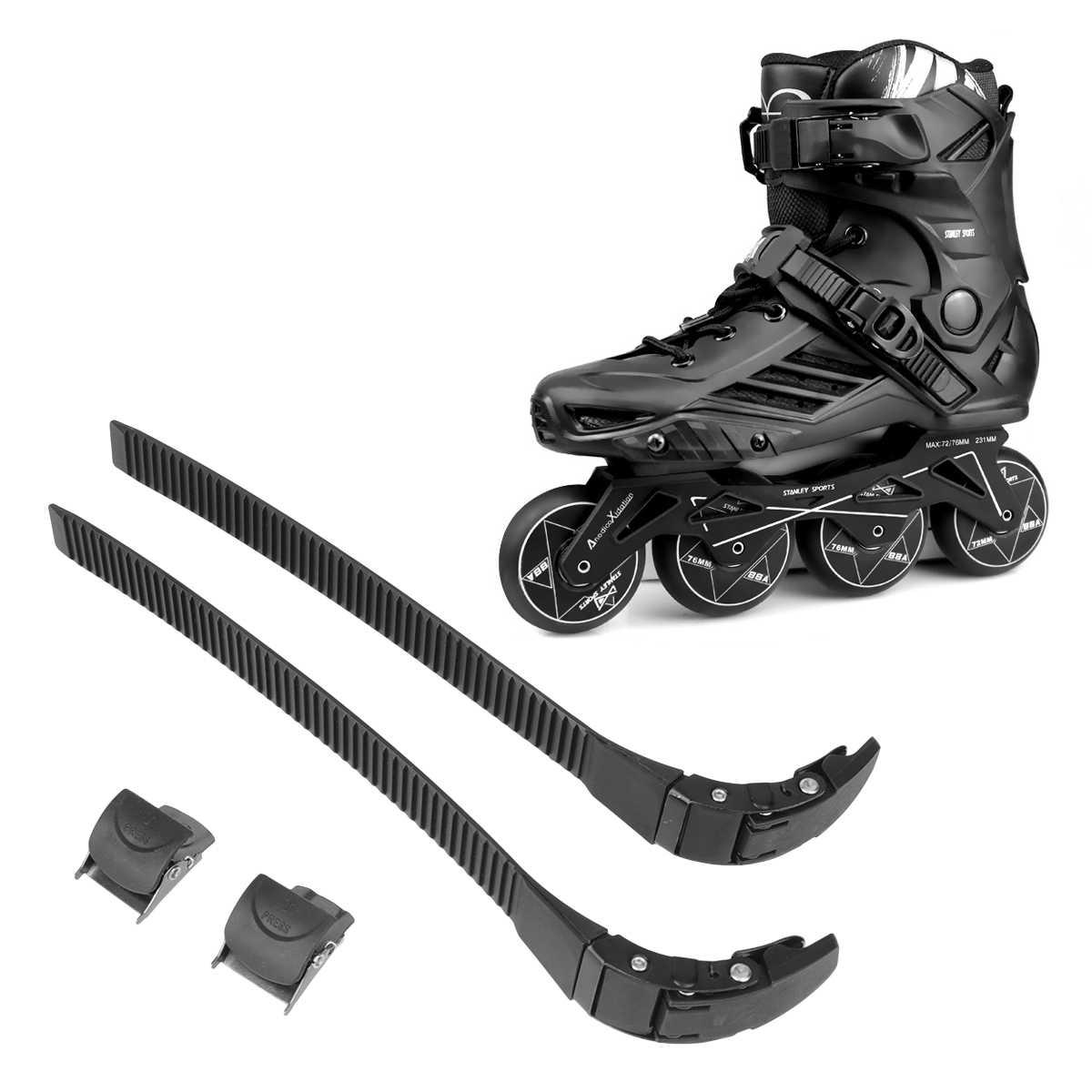 Inline Skating Strap Skate Boot Shoes Energy T Shape Roller Skates Buckle BeGEU