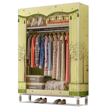 Hot Fold Portable Wardrobe Closet Clothes Storage Organizer Clothing Rack Clothes Closet Fleece Fabric Wardrobe Garment Storage