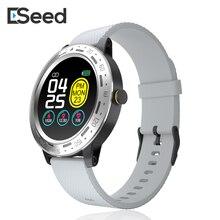 Смарт-часы ESEED S18, мужские, IP67, водонепроницаемые, 1,3 дюймов, полный сенсорный экран, длительный режим ожидания, погодные, умные часы для android ios