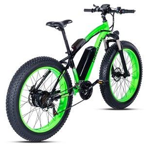 Image 4 - Elektrische fiets 26*4.0inch Aluminium elektrische Fiets 48V17A 1000W 40 KM/H 6Speed Krachtige Fat Tire bike berg sneeuw ebike
