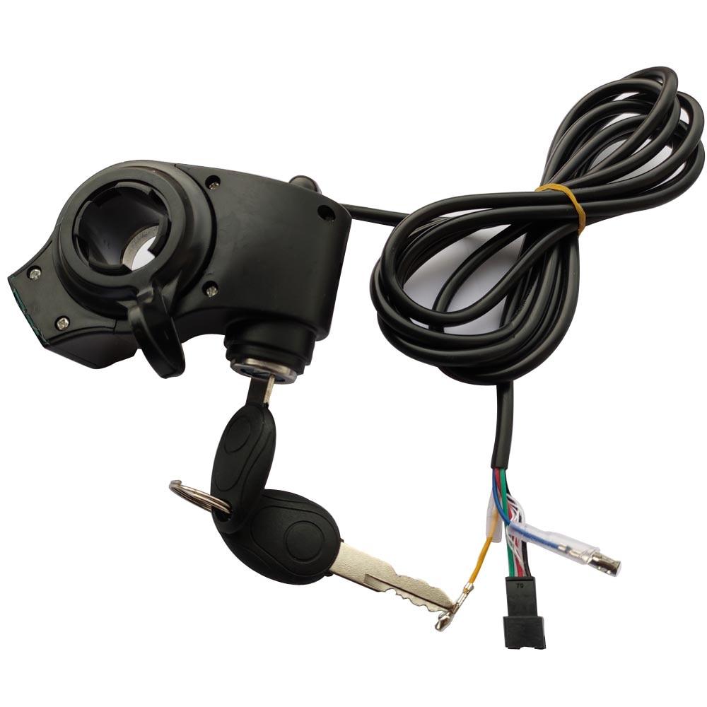 12V//24V//36V//48V//60V//72V Thumb Throttle Ebike With Battery Display Thumb GripXUI