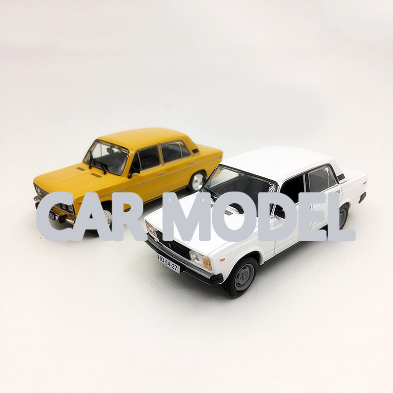 1:43 scale Alloy Toy Vehicles Soviet Union Russia LADA Car Model Of Children's Toy Cars Original Authorized Authentic Kids Toys