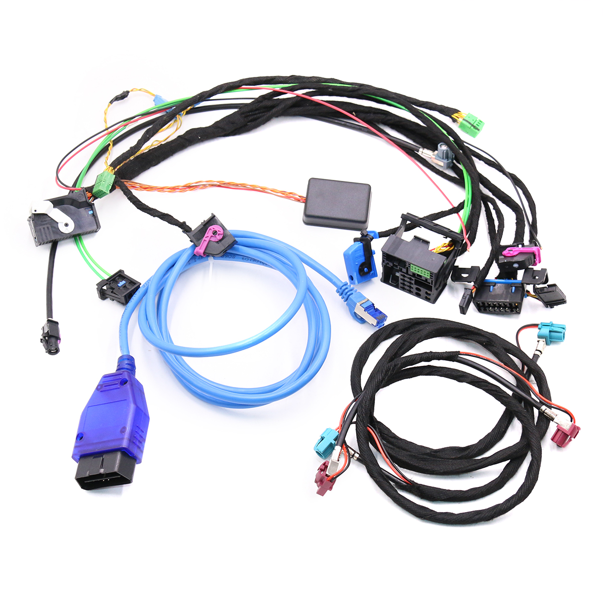 Test Tools Wirings harness with CAS Emulator tester For BMW CCC CIC NBT EVO navigation systems power on bench all in one(China)