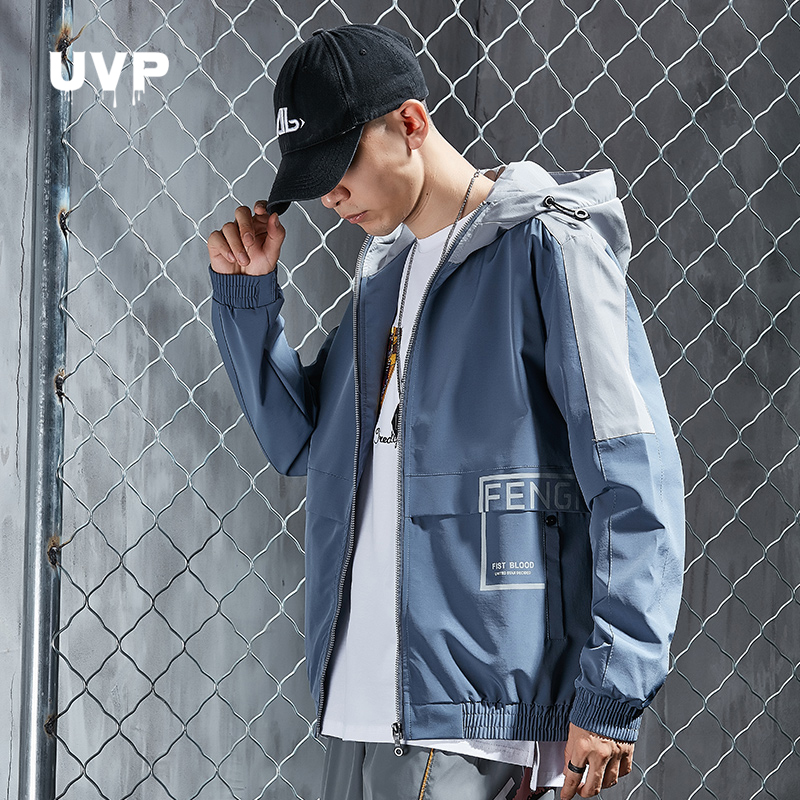 Hip Hop Jackets Men Streetwear Jacket For Man Clothing Harajuku Hooded Male Clothes Outerwear Casual Track Jacket Techwear