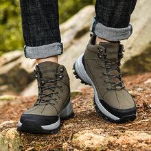 Ботинки мужские из натуральной кожи винтажные на шнуровке британская