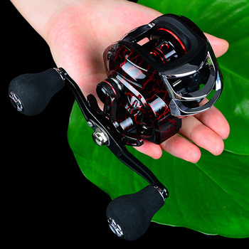 Fishing Reel With Magnetic Brakes And EVA Handle Suitable for Fishing Larger Fish