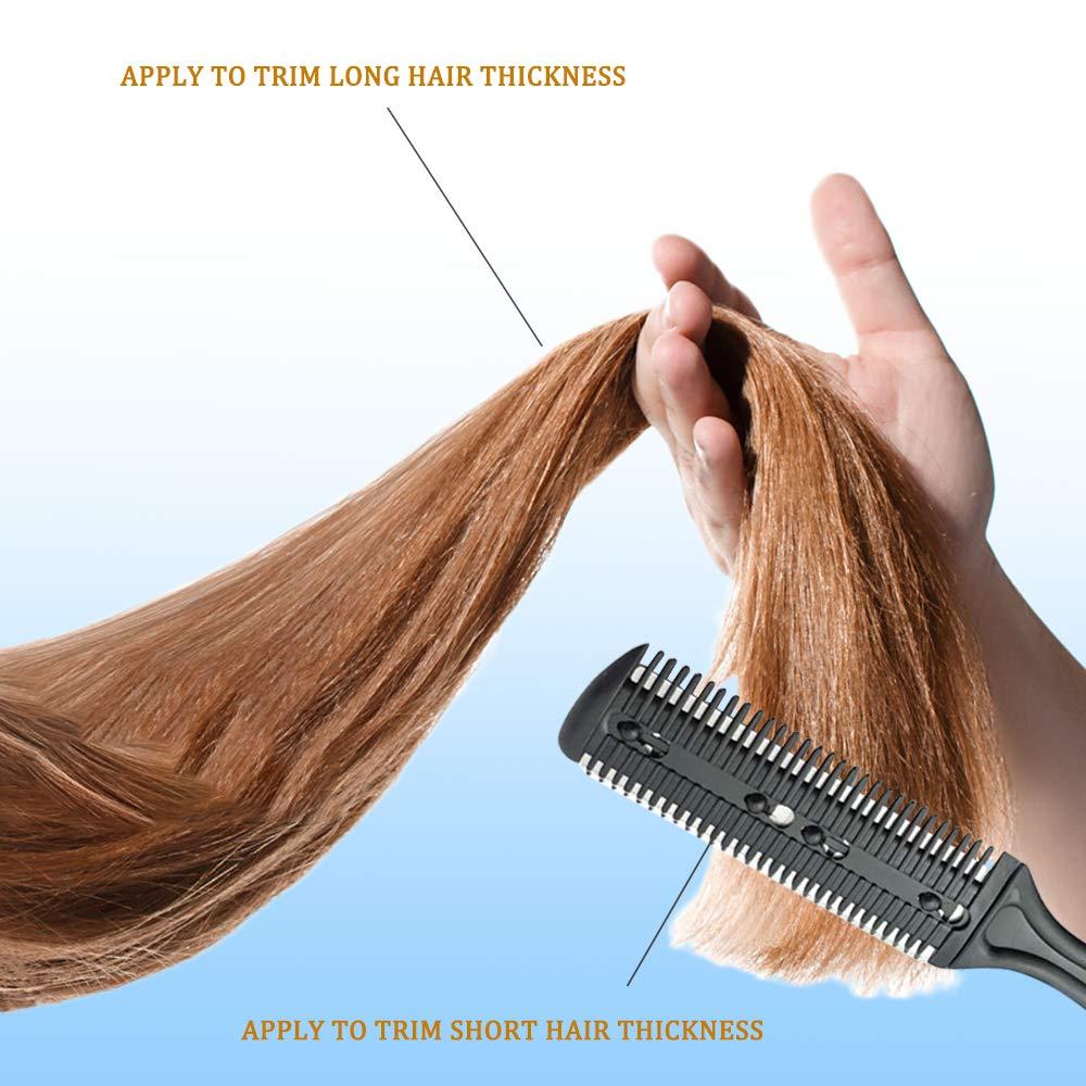 10 pçs kit de tesoura de cabeleireiro