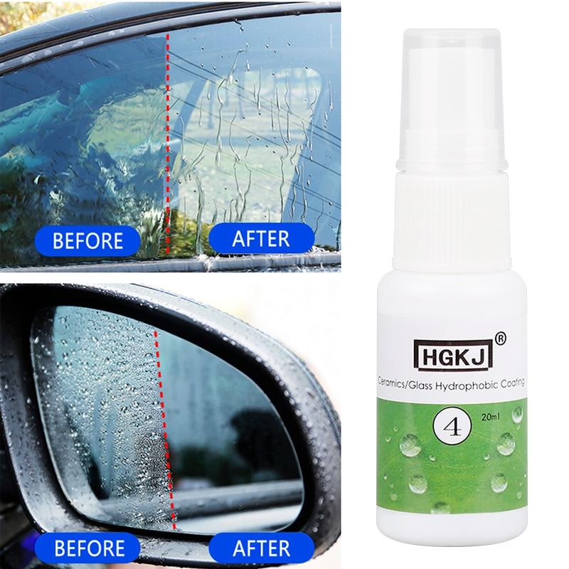 Car Anti-rain Agent Spray Hydrophobic Coating Auto Windshield Window Water Repellent Rearview Mirror Rainproof Anti-fog Cleaner