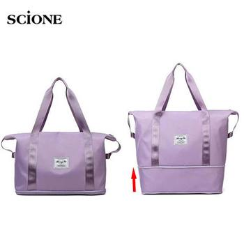 Fitness Dry Wet Bag Gym Bags for Men Women Training Travel Handbag Yoga Mat Sac De Sport Adjustable Daily Shoulder XA744A - discount item  60% OFF Sport Bags