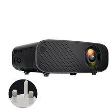 Infrared Remote Control Mini Portable HDMI VGA Media Player 12800 Lumens LED Projector