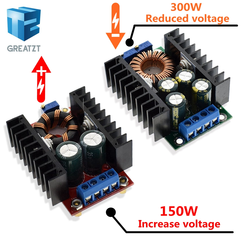 GREATZT DIY Electric Unit High quality C D C CC CV Buck Converter Step down Power Module 7 32V to 0.8 28V 9A 300W XL4016|power module|buck convertercc cv - AliExpress