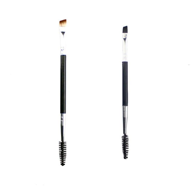 2 шт. кисть для бровей профессиональная кисть для туши для бровей расческа кисти для макияжа для красоты карандаш для бровей инструмент и аксессуары|Аппликатор теней для век|   | АлиЭкспресс