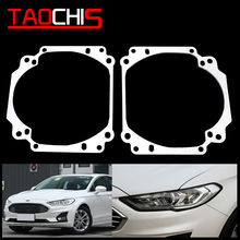Taochis Car Styling frame adapter DIY Bracket Holder for Ford Mondeo fusion 2013-2018 Hella 3r 5 Projector lens