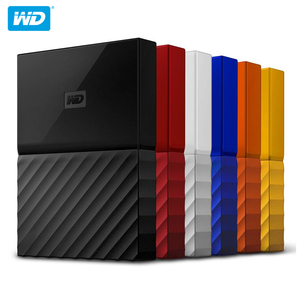 Image 5 - 100% Original Western Digital My Passport HDD 1TB 2TB 4TB USB 3.0 Portable External Hard Drive Disk with HDD Cable Windows Mac